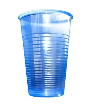 7oz PS Blue Water Cups